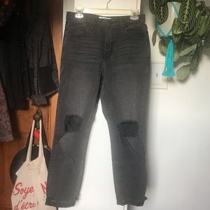 One by one teaspoon destroyed jeans